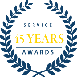 45 Years of Service