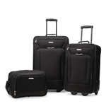 3-Pc Luggage Set - Black - 25 Years Service Award