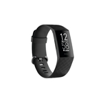 Fitbit - Charge 3 Activity Tracker + Heart Rate - Black Silver - 25 Years Service Award