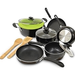 12-Pc  Black Cookware Set - 25 Years Service Award
