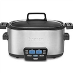 6-Quart Multi-Cooker: Slow Cooker, Brown/Saute, Steamer - 35 Years Service Award