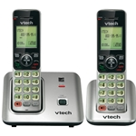 Cordless Phone System with 2 Handsets - 10 Years Service Award