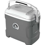 28 Qt. Iceless Thermoelectric Cooler - Silver - 20 Years Service Award