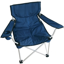 2 Premium Folding Camp Chairs with Carrying Case - 10 Years Service Award