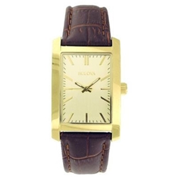 Gold Tone Watch - Mens or Ladies - (click here to choose mens or ladies)  - 20 Years Service Award