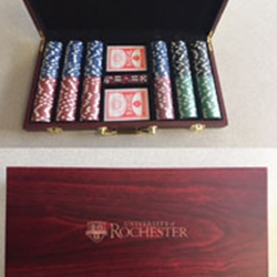 Poker Set - 300 Chips - 10 Years Service Award