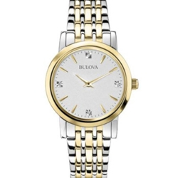 Two-Tone Watch - Mens or Ladies - (click here to choose mens or ladies)  - 35 Years Service Award